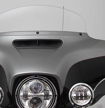 """10/"""" Light Tint Windshield Harley Touring  FLHT FLHX"""