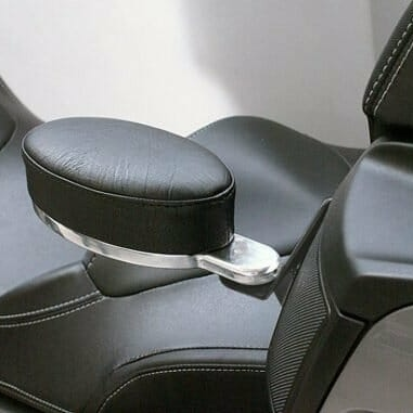 Billet armrests for Can Am Spyder RT models