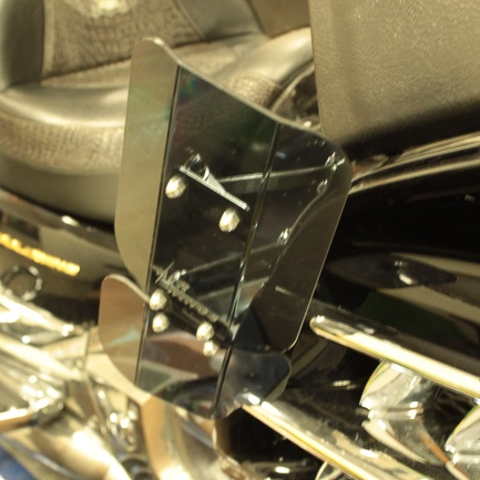 Honda GL1800 Scratch Resistant Air Wings w/ Lowers