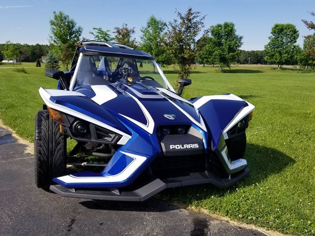 Replacement Windshield for Polaris Slingshot
