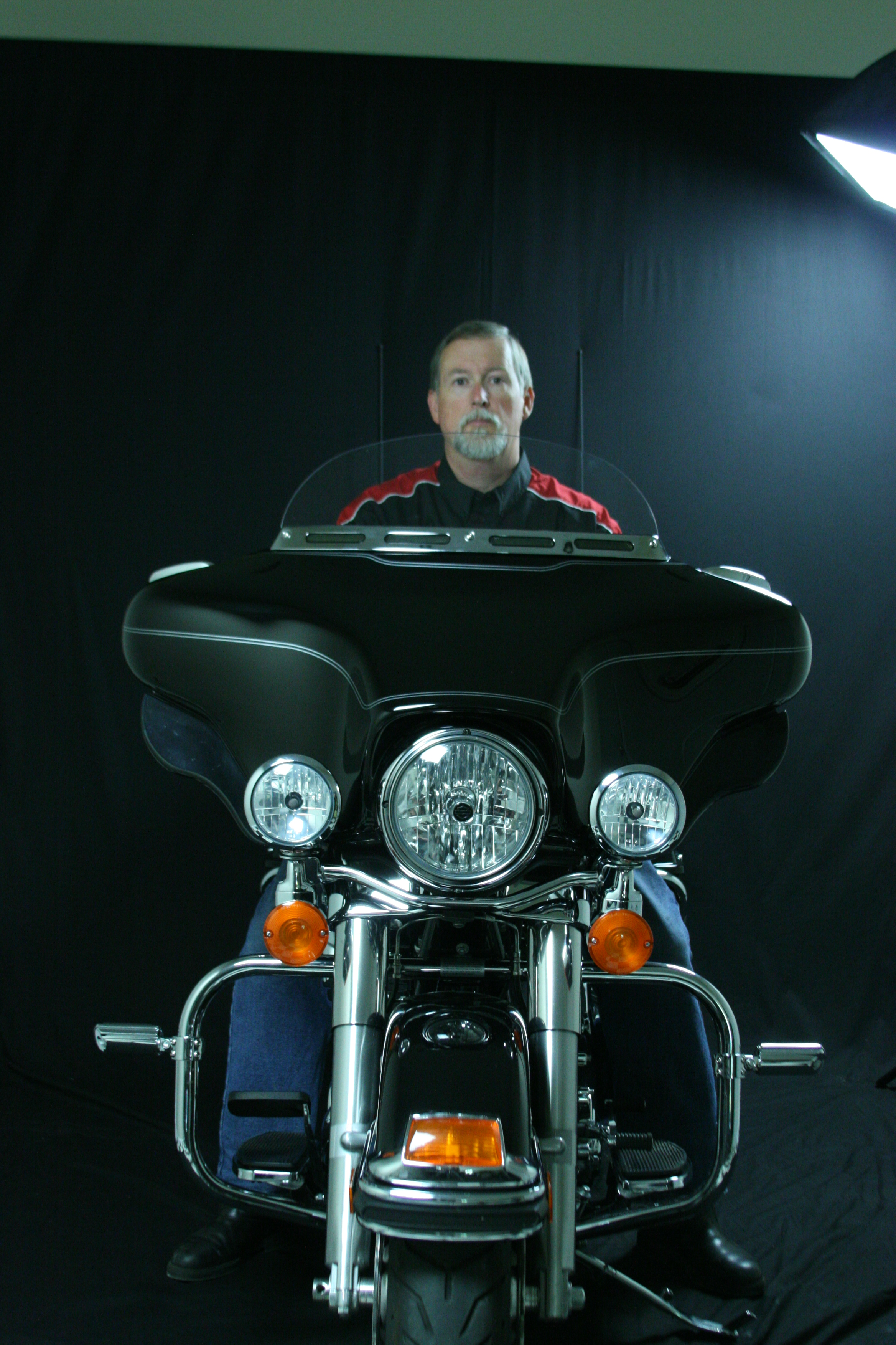 Straight Windshield for Ultra Classic®/Street Glide®  1996-2013