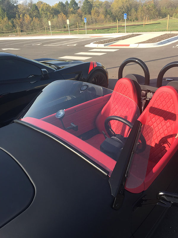 Vanderhall Carmel Windshield - Aftermarket Accessory