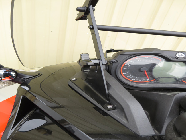 Windshield for Spyder F3 and F3-S