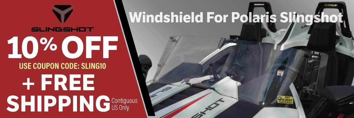 Slingshot Windshield