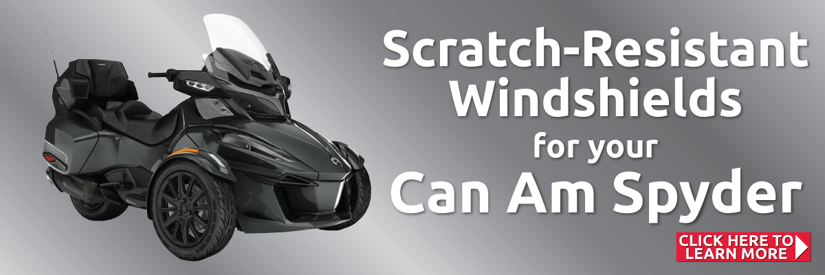 Can Am Spyder Replacement Windshield